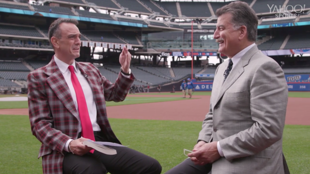 Broadcasting legend Jim Brockmire (Hank Azaria) sat down with Mets great Keith Hernandez for an unforgettable conversation about his path to the big leagues, his time in the booth and his epic mustache.