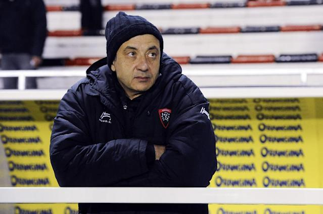 Toulon President Mourad Boudjellal, shown in this December 2, 2017 file photo, was slapped with a misconduct complaint after he accused European Professional Club Rugby of puritan hypocrisy (AFP Photo/Franck PENNANT)