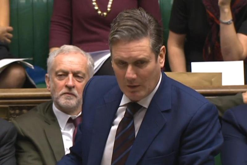 Labour's shadow Brexit secretary Sir Keir Starmer said the deal agreed by Cabinet failed all of its six tests: PA