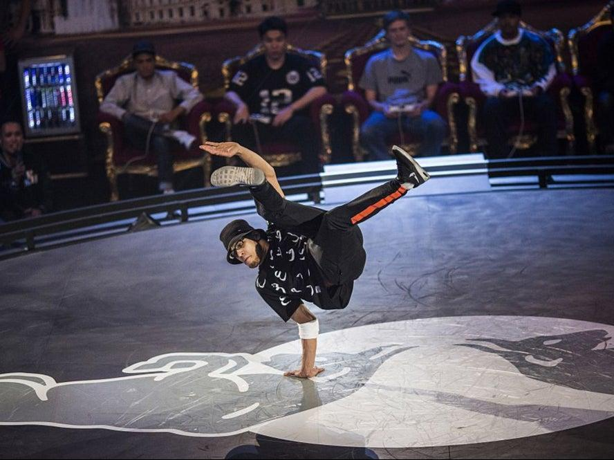 Ali 'Lilou' Ramdani of France competes at the Red Bull BC One Breakdancing World FinalsGetty Images