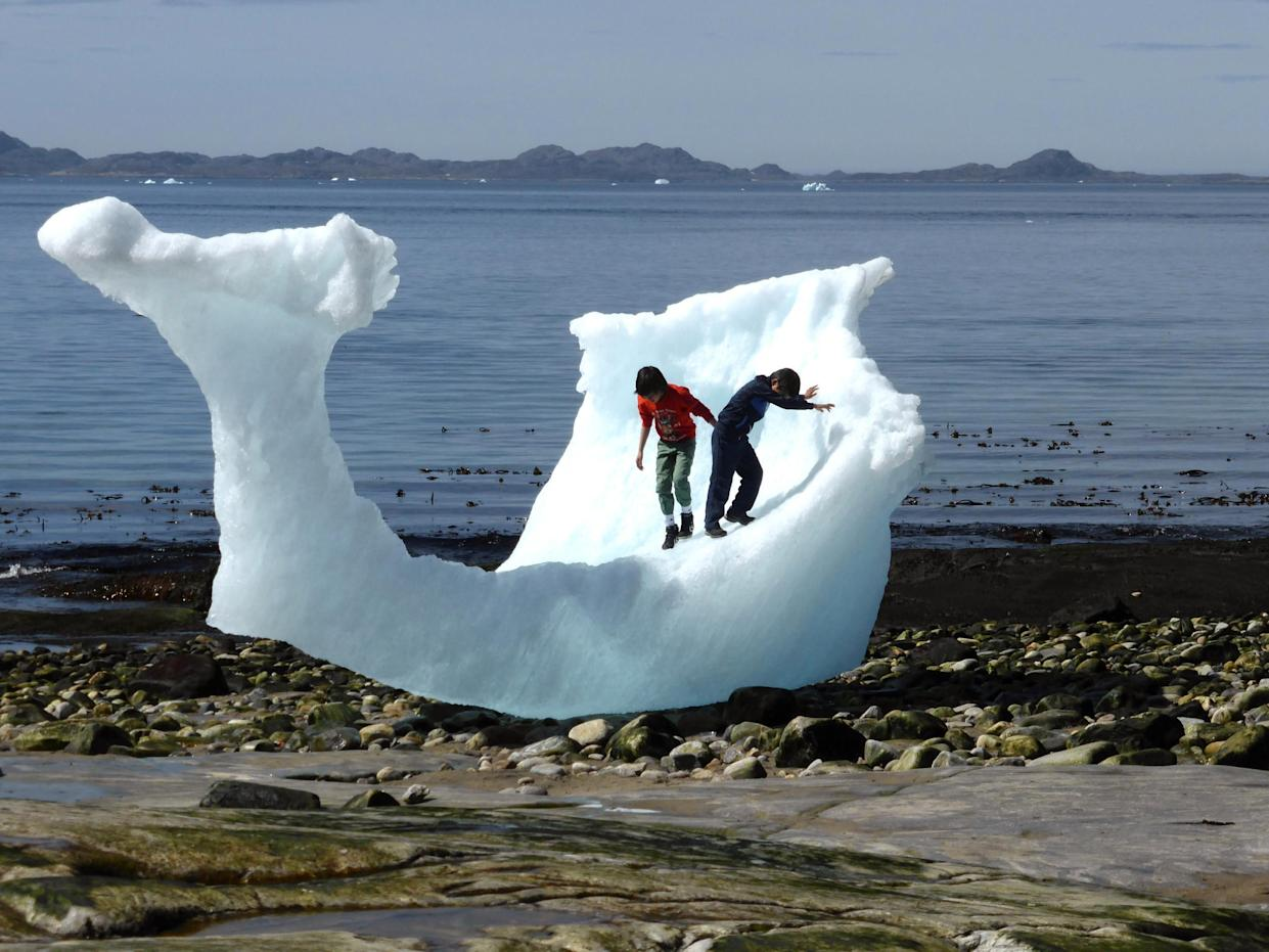 The melting of ice all around the world is a clue that it's getting warmer: Reuters