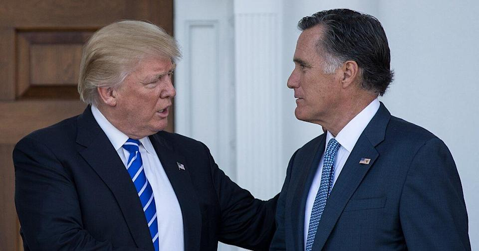 Mitt Romney Surprisingly Votes to Convict Donald Trump: The Ups and (Many) Downs of Their Relationship