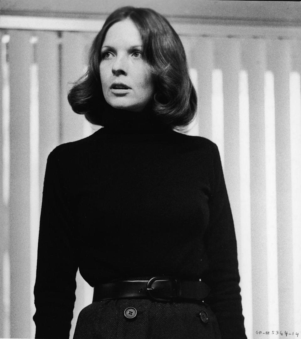 <p>Diane Keaton was cast as Michael Corleone's love interest, Kay Adams. It was her first major film role. </p>