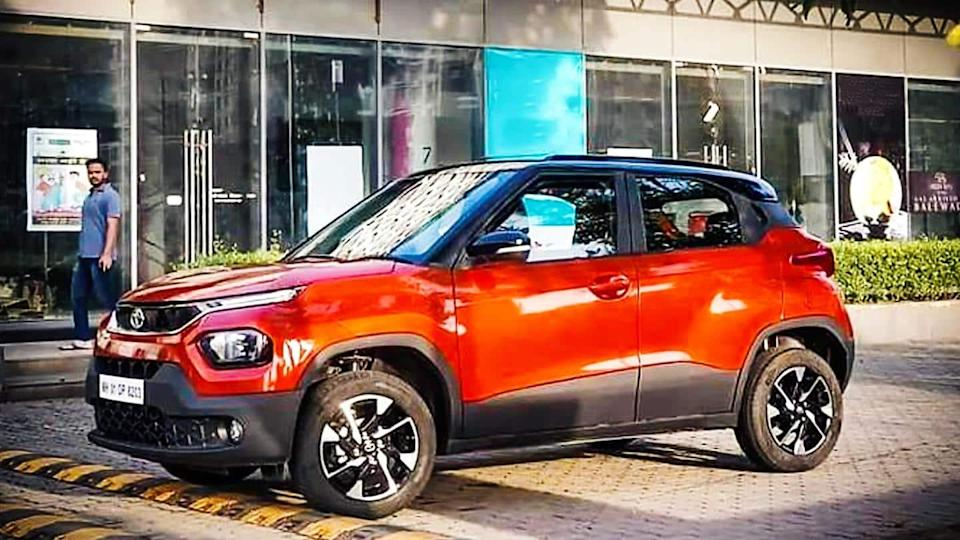 Tata Punch appears in leaked images, interiors revealed