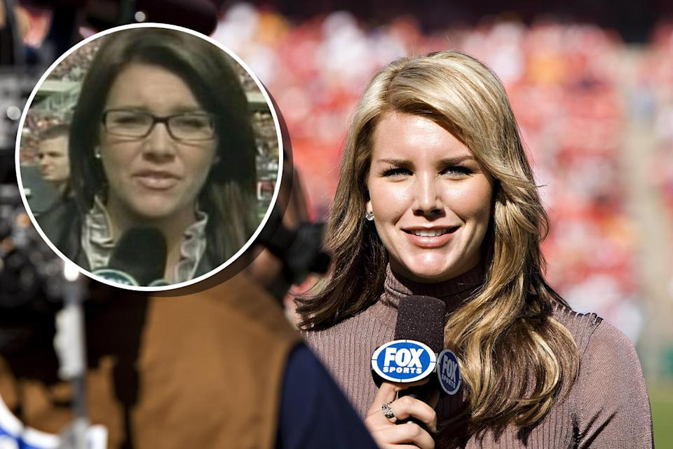 Charissa Thompson. (Photo: Getty Images, Inset: Fox Sports)