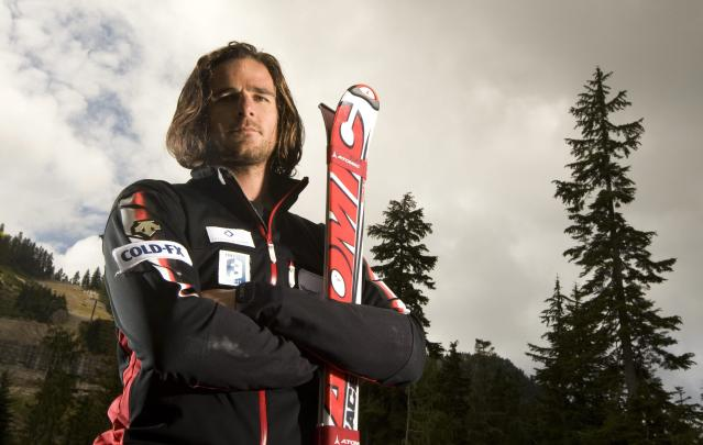 In this photo taken Sept. 15, 2009, Canadian National Ski Cross team member Nick Zoricic of Toronto, poses for a photo following a media event at Cypress Mountain, in North Vancouver, British Columbia. Zoricic died from head injuries after crashing in a World Cup skicross event at Grindelwald, Switzerland, on Saturday., March 10, 2012. (AP Photo/The Canadian Press, Jonathan Hayward, File)