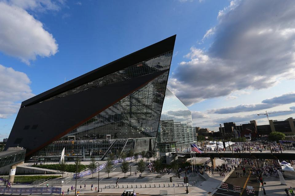 Tour The Minnesota Vikings New Stadium