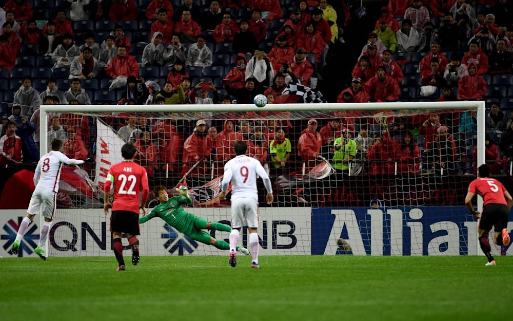 Oscar skies his second penalty - Credit: AFP