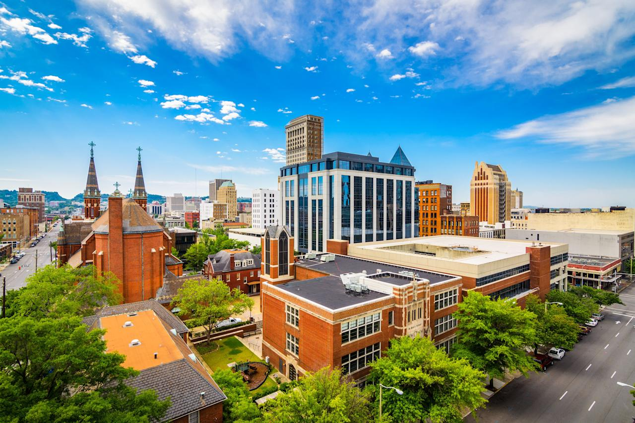 """<p>It doesn't take a rocket scientist (or a team of <i>Southern Living</i> editors who call <a href=""""https://www.southernliving.com/travel/alabama/things-to-do-birmingham"""" target=""""_blank"""">this magical city</a> home) to tell you that this once-industrial town is on the rise. From its <a href=""""https://www.southernliving.com/news/birmingham-bar-and-grill-james-beard-awards"""" target=""""_blank"""">booming food scene</a> to its flourishing economy, Birmingham is making headlines, these days, for all the right reasons. And the upward trend extends to the housing market: according to Realtor.com, home prices here have skyrocketed in recent years. Yet, with a median sales price of $190k in the city and surrounding areas, many listings still fall within the affordable range for investors (many of whom are locals trying to make a few bucks). The booming population means your chances of a quick turnover are pretty good—according to the site, 17.3 percent of home sales within the past year were investment properties, making Birmingham the second most successful city in the country for house flippers. </p>"""