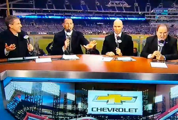 Does A-Rod fit in as a broadcaster? (FOX)