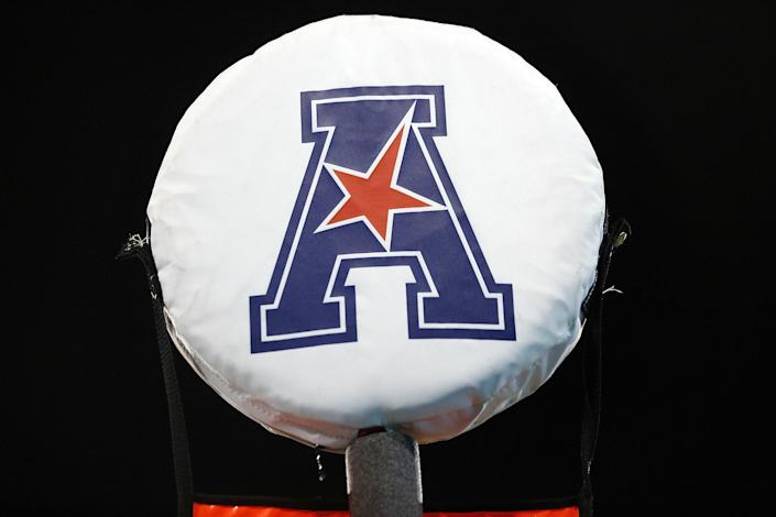 The American Athletic Conference announced its plans for the 2020 college football season on Wednesday. (Photo by Jonathan Bachman/Getty Images)