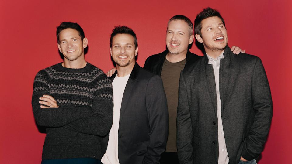 98 Degrees in 2021. (Photo: TagCollective)