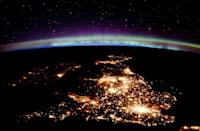 <p>View of the United Kingdom from the International Space Station // April 5, 2016</p>
