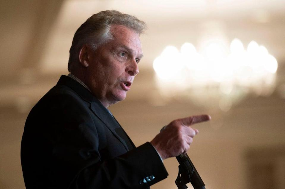 The AP Interview Terry McAuliffe (Copyright 2021 The Associated Press. All rights reserved.)