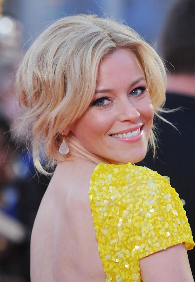 LONDON, UNITED KINGDOM - MARCH 14: Elizabeth Banks attends the European premiere of The Hunger Games at O2 Arena on March 14, 2012 in London, England. (Photo by Stuart Wilson/Getty Images)