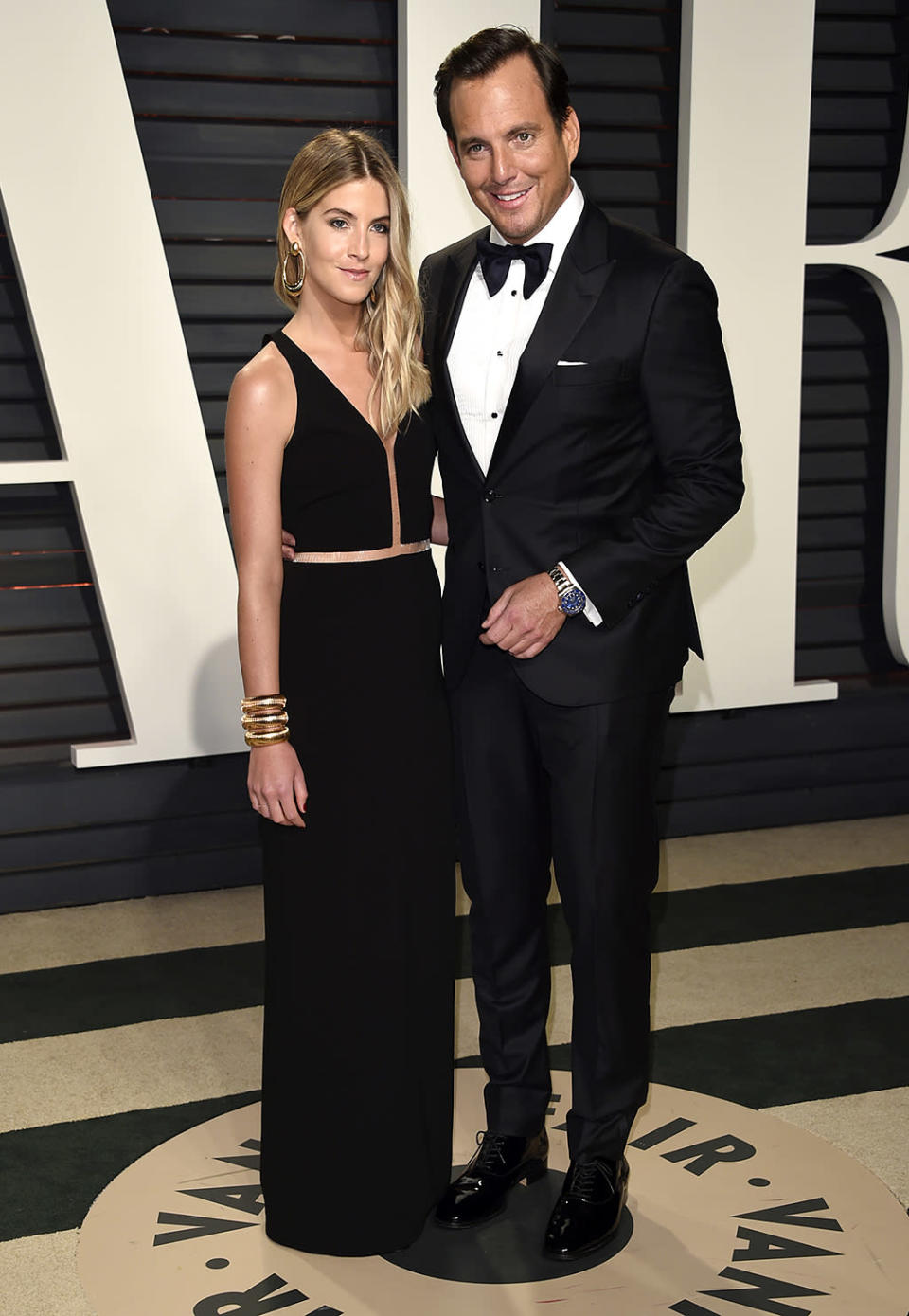 <p>Elizabeth Law and Will Arnett arrive at the Vanity Fair Oscar Party on Sunday, Feb. 26, 2017, in Beverly Hills, Calif. (Photo by Evan Agostini/Invision/AP) </p>