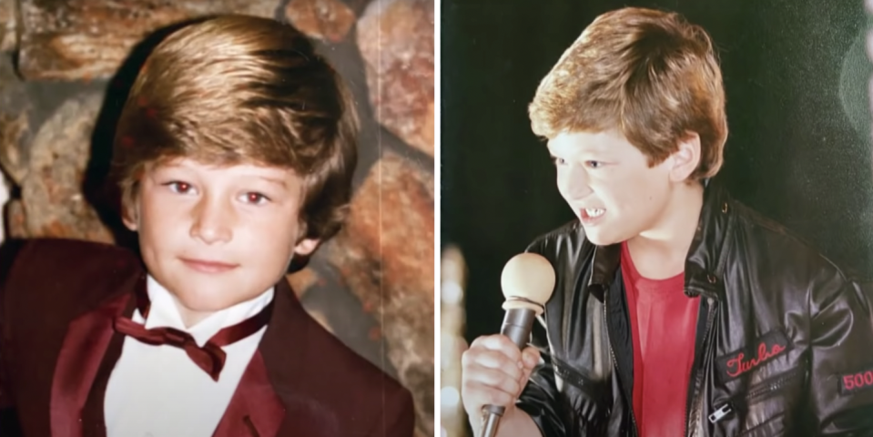 Fans Can't Stop Talking About Blake Shelton's Childhood Photos from His 'Kelly Clarkson Show' Interview