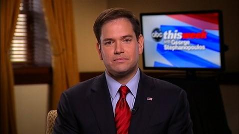 abc marco rubio this week jt 130414 wblog Marco Rubio: Immigration Bill Doesnt Give Anything Away