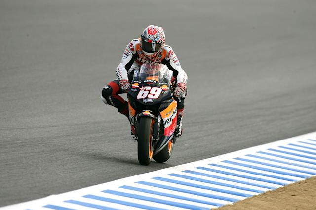 "2005. Nicky Hayden <span class=""copyright"">Repsol Media</span>"