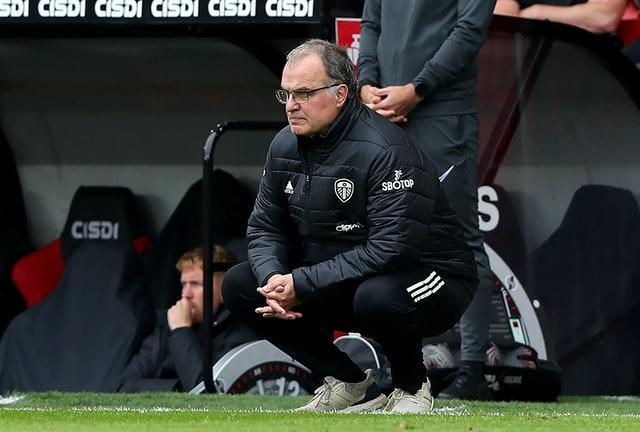 Bielsa, pictured, paid tribute to Pep Guardiola