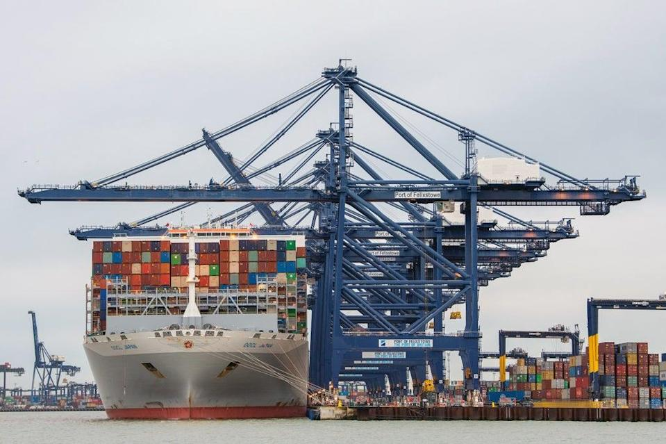 The price of shipping goods to the UK has increased tenfold, businesses say. (PA) (PA Archive)