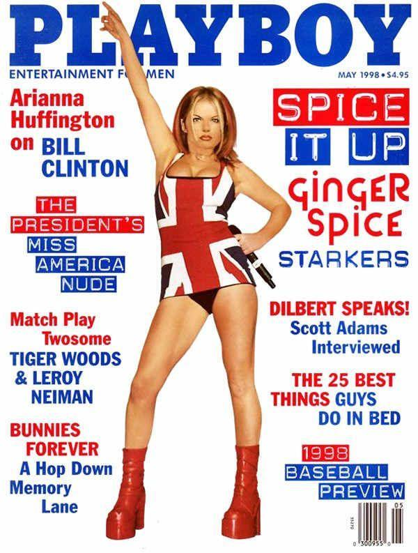 <p><strong>Issue: </strong>May 1998</p><p>Geri Halliwell was there to help <em>Playboy</em> readers spice up their lives in the May 1998 issue. </p>