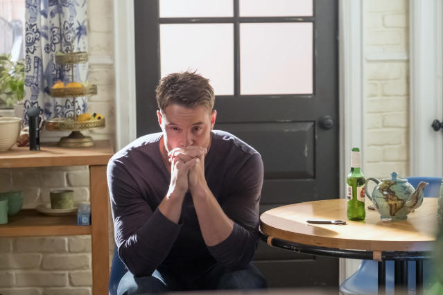 <p>Justin Hartley as Kevin in NBC's <i>This Is Us</i>.<br>(Photo: Ron Batzdorff/NBC) </p>