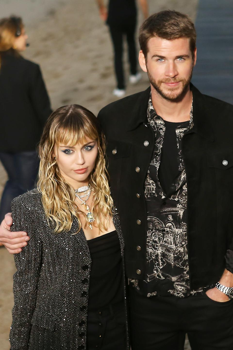 """On August 10, Miley Cyrus and Liam Hemsworth announced they were splitting after eight months of marriage. """"Liam and Miley have agreed to separate at this time,"""" a rep for Cyrus told <em><a href=""""https://people.com/music/miley-cyrus-liam-hemsworth-split/"""" rel=""""nofollow noopener"""" target=""""_blank"""" data-ylk=""""slk:People"""" class=""""link rapid-noclick-resp"""">People</a>.</em> """"Ever-evolving, changing as partners and individuals, they have decided this is what's best while they both focus on themselves and careers. They still remain dedicated parents to all of their animals they share while lovingly taking this time apart. Please respect their process and privacy."""""""