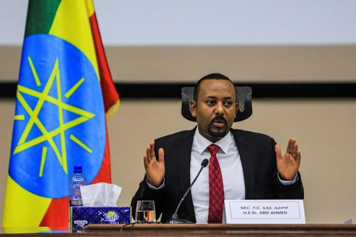 'Let's make it a postively historic day together!' Abiy said of the June 21 vote
