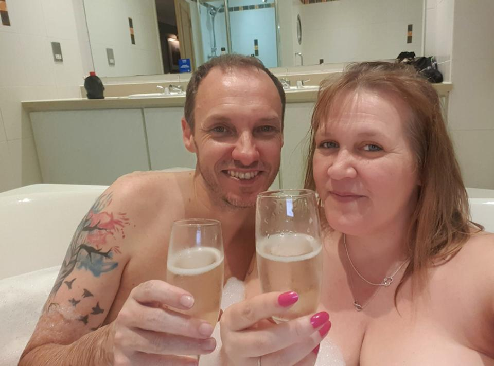 The couple have both found naturism brings them confidence. (PA Real Life)