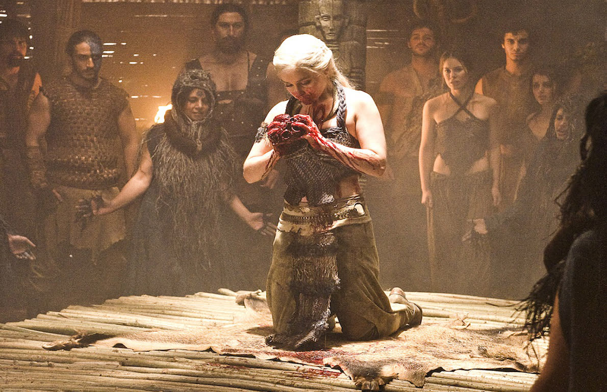 Image result for game of thrones eating the heart
