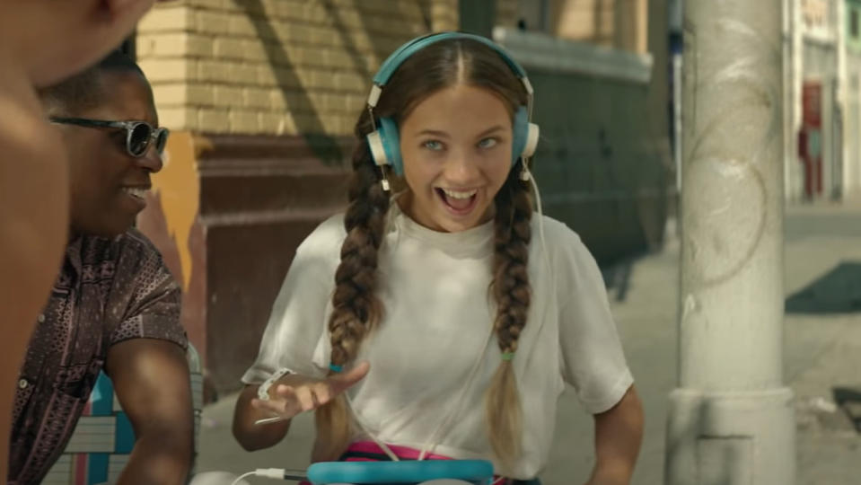Maddie Ziegler plays the titular autistic teenager in 'Music'. (Credit: Hanway Films)