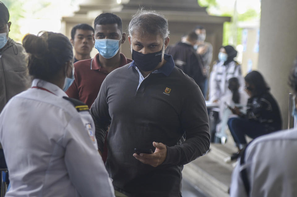Omar Ali Abdullah is pictured at the Kuala Lumpur High Court June 18, 2020. — Picture by Shafwan Zaidon