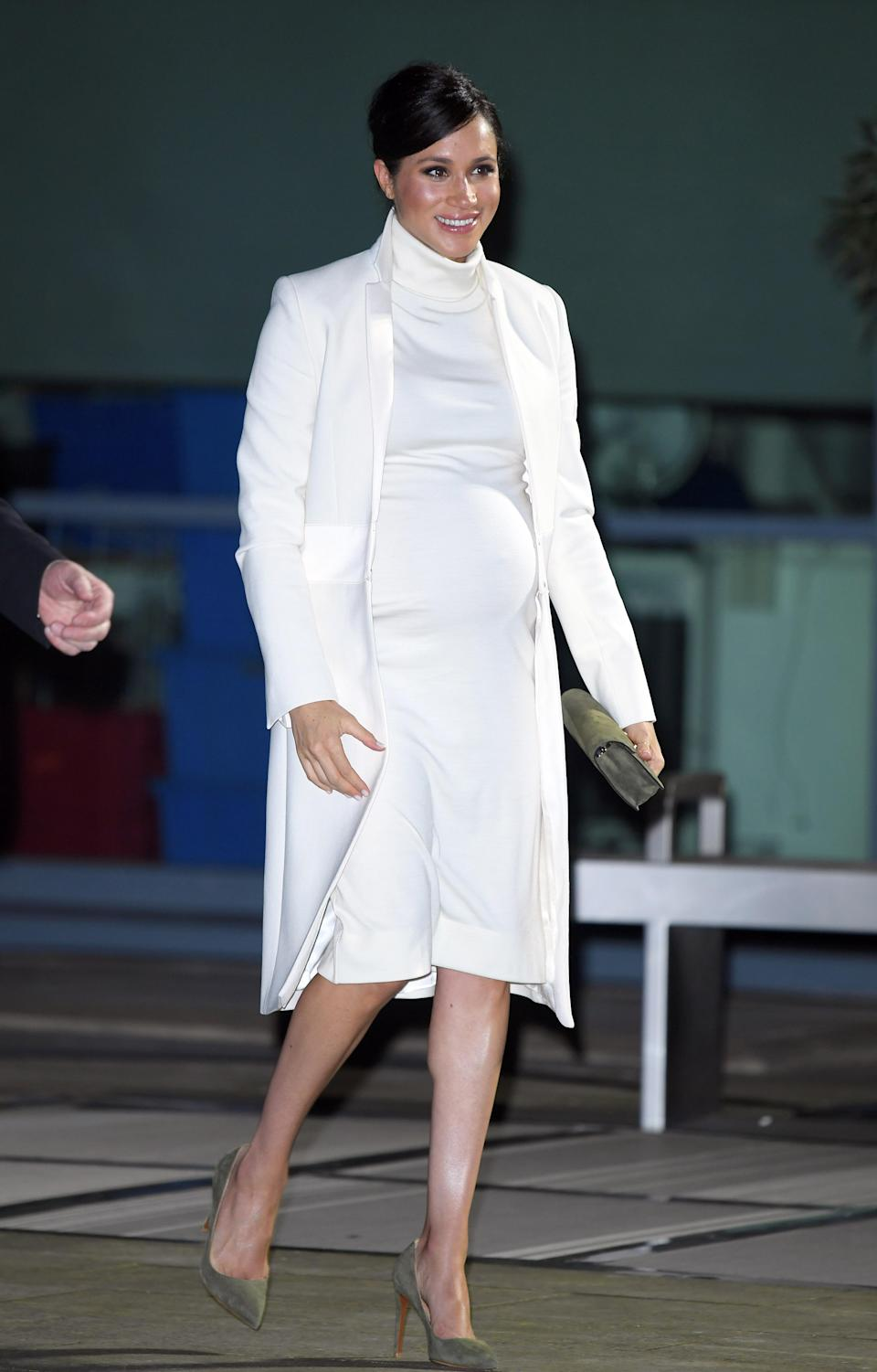 It's been a rollercoaster month for the 37-year-old Duchess of Sussex, who is seven months pregnant with her first child, with her father releasing a letter she hand wrote to him, begging him to stop victimising her in public. [Photo: Getty Images]