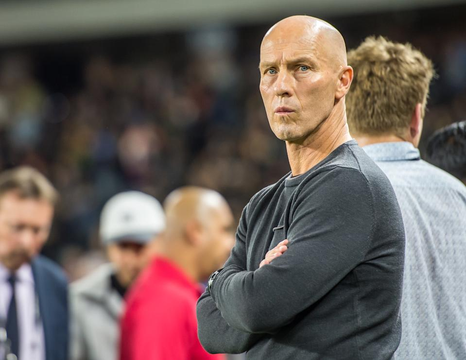 Head coach Bob Bradley and LAFC reached new heights in MLS this season, but it will end without the ultimate prize. (Getty Images)