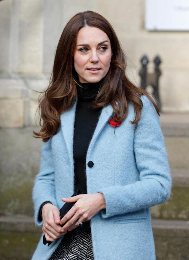 Colored nail polish is a big no-no for royals. (Photo: Getty Images)