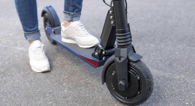 These electric scooters are legal in the UK from today. (Getty Images)