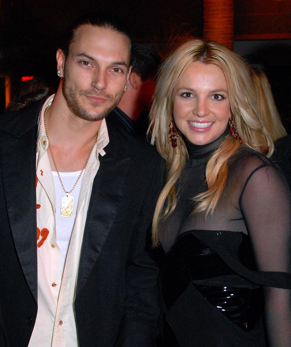 (EXCLUSIVE, Premium Rates Apply) Kevin Federline and Britney Spears   (Photo by Michael Caulfield/WireImage for Sony BMG Music Entertainment)