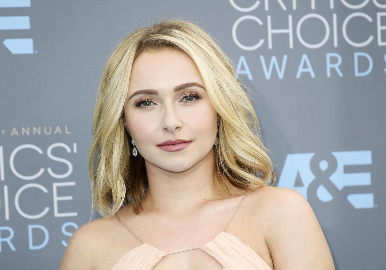 Hayden Panettiere is opening up about abuse as her ex-boyfriend, Brian Hickerson, is arrested on domestic violence charges. (Photo: Reuters)
