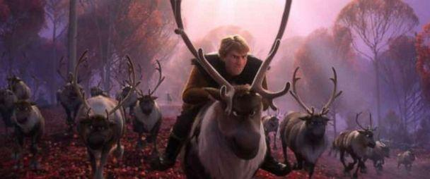 PHOTO: In Walt Disney Animation Studios' 'Frozen 2,' Kristoff and Sven find themselves among a herd of reindeer. (Disney)