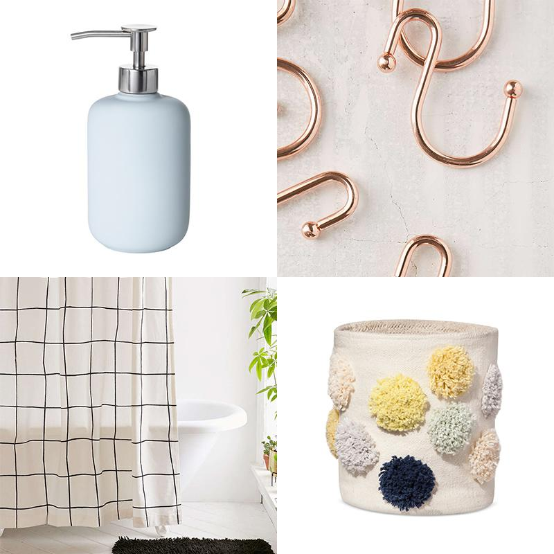 How to refresh your bathroom decor on a budget for D line bathroom accessories