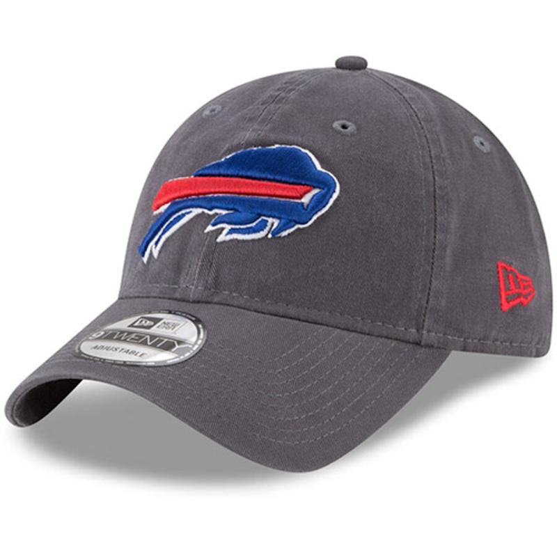 Bills Graphite Adjustable Hat