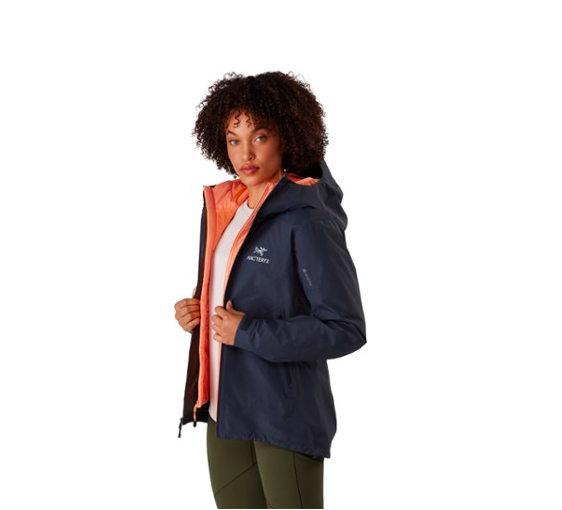 """<p><strong>Arc'teryx</strong></p><p>rei.com</p><p><strong>$299.00</strong></p><p><a href=""""https://go.redirectingat.com?id=74968X1596630&url=https%3A%2F%2Fwww.rei.com%2Fproduct%2F135481&sref=https%3A%2F%2Fwww.cosmopolitan.com%2Fstyle-beauty%2Ffashion%2Fg33523619%2Fbest-raincoats%2F"""" rel=""""nofollow noopener"""" target=""""_blank"""" data-ylk=""""slk:Shop Now"""" class=""""link rapid-noclick-resp"""">Shop Now</a></p><p>Weather can be fickle, so if it's pouring one minute and completely sunny the next, you want a lightweight jacket that easily stows away in your bag. This packable two-toned one will do just that; plus, you'll stay so dry thanks to the hood, adjustable cuffs, and waterproof GORE-TEX fabric. </p>"""
