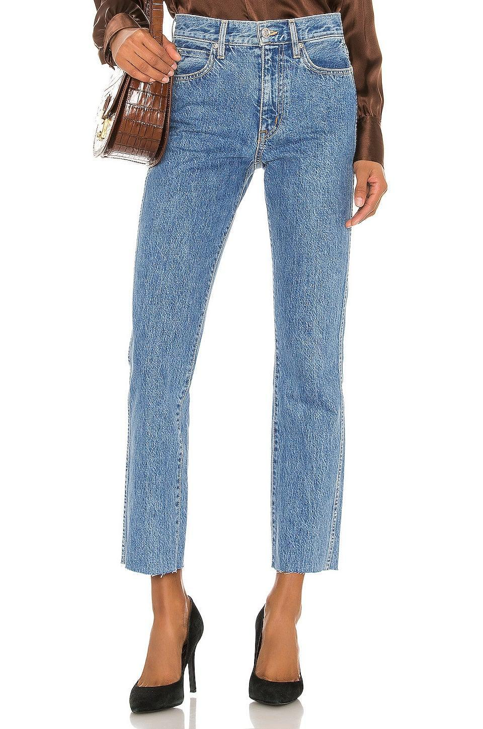 <p>You can't go wrong with these classic <span>Slvrlake Hero Slim Straight</span> ($259) jeans.</p>