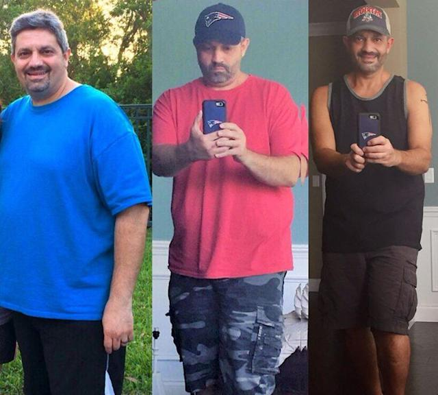 For John Boghos, the first step towards a healthier lifestyle was using a food journal for accountability.