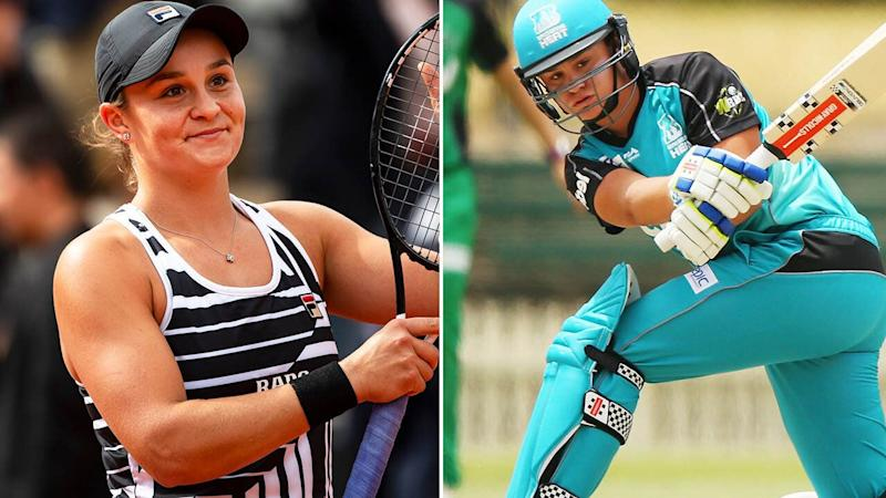 Ash Barty took a break to play cricket in 2014. Image: Getty