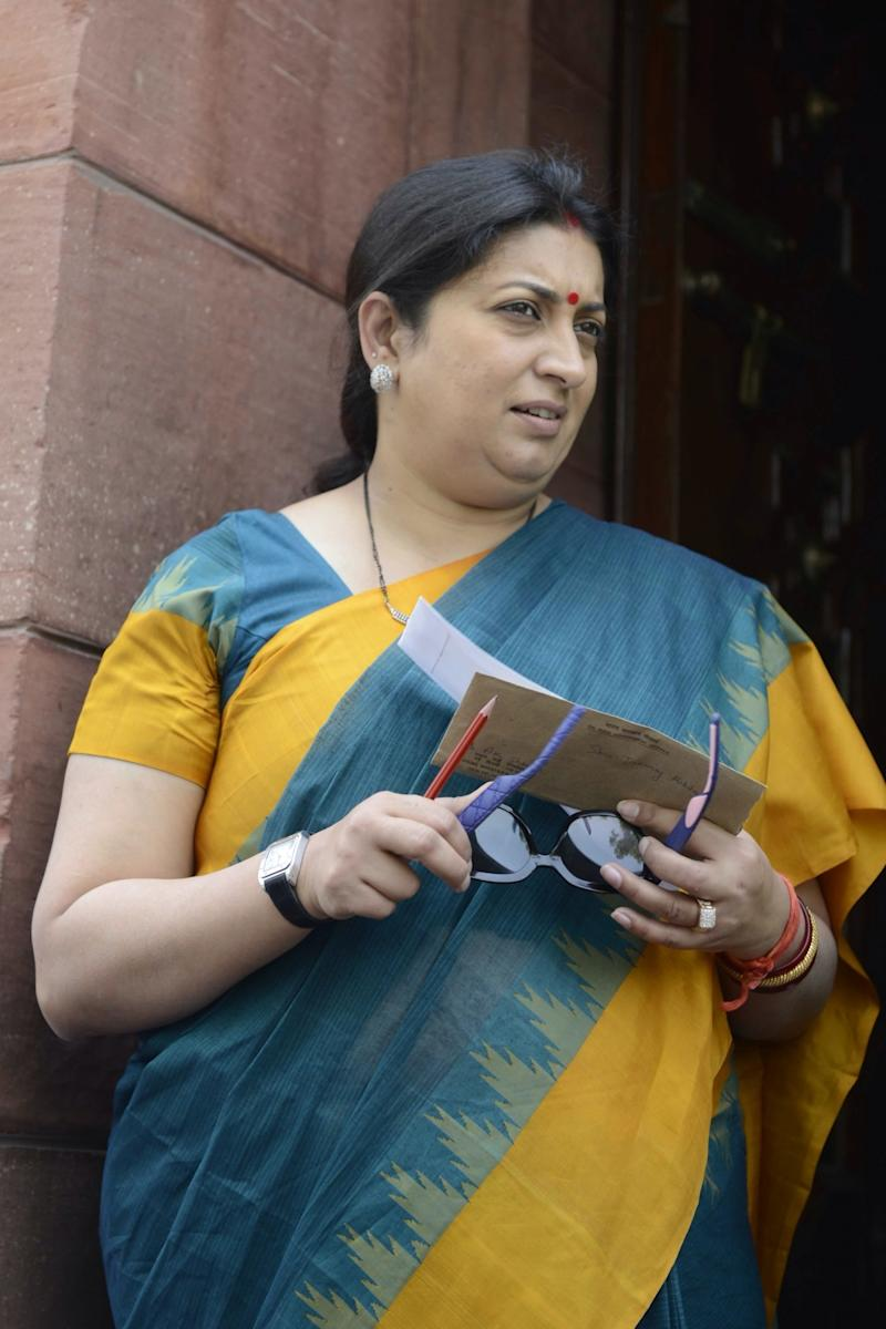 Relief for Smriti Irani as Delhi court dismisses fake degree case