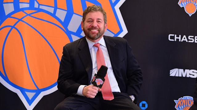 Knicks owner James Dolan admitted to Deadspin that he got into an argument with an unhappy season ticketholder on Tuesday night.