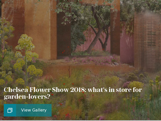 Chelsea Flower Show 2018: what's in store for garden-lovers?