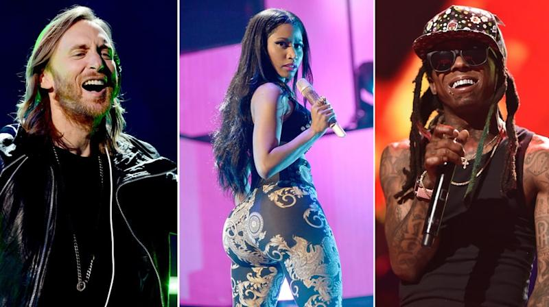 Hear Nicki Minaj, David Guetta, Lil Wayne's Sexy New Song 'Light My